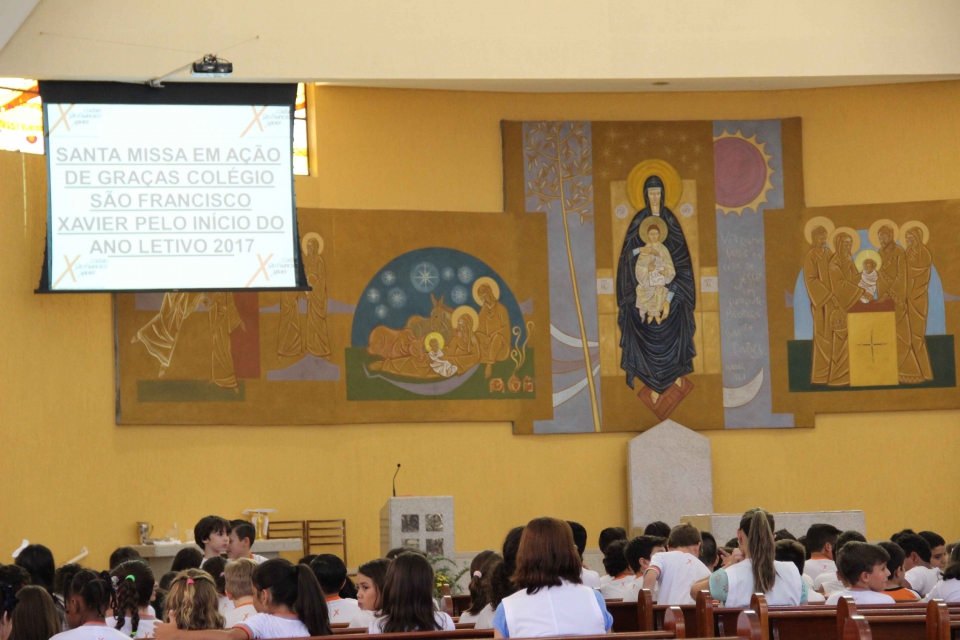 Santa Missa em Ação de Graças pelo início do ano letivo de 2017